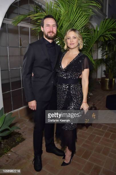 Danny Fujikawa and Kate Hudson attend Michael Kors Dinner to celebrate Kate Hudson and The World Food Programme on November 7 2018 in Beverly Hills...