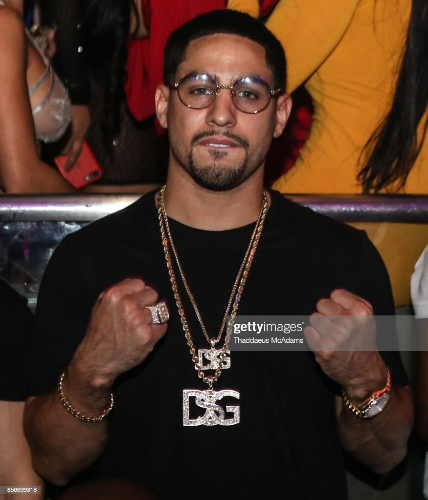 Danny Garcia at LIV nightclub at Fontainebleau Miami on October 1, 2017 in Miami Beach, Florida.