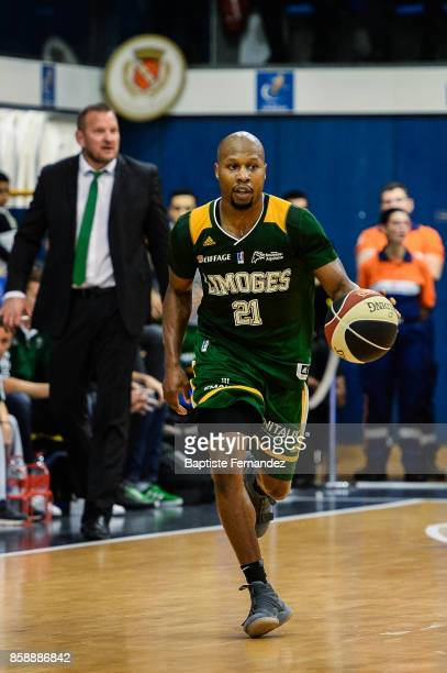 Danny Gibson of Limoges during the Pro A match between Levallois and Limoges on October 7 2017 in LevalloisPerret France