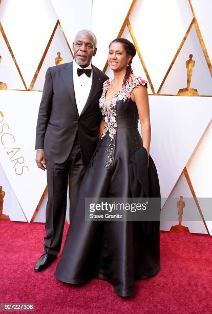 Danny Glover and Eliane Cavalleiro attends the 90th Annual Academy Awards at Hollywood Highland Center on March 4 2018 in Hollywood California