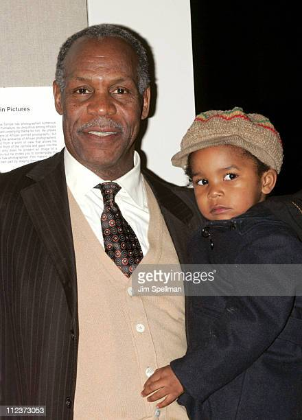 Danny Glover and grandson Adesola during 14th Annual New York African Film Festival Screening of Africa Unite