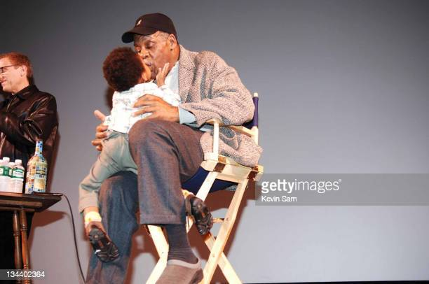 Danny Glover and Grandson during 9th Annual Sonoma Valley Film Festival Humanitarian Tribute to Danny Glover at Sebastiani Theater in Sonoma Valley...