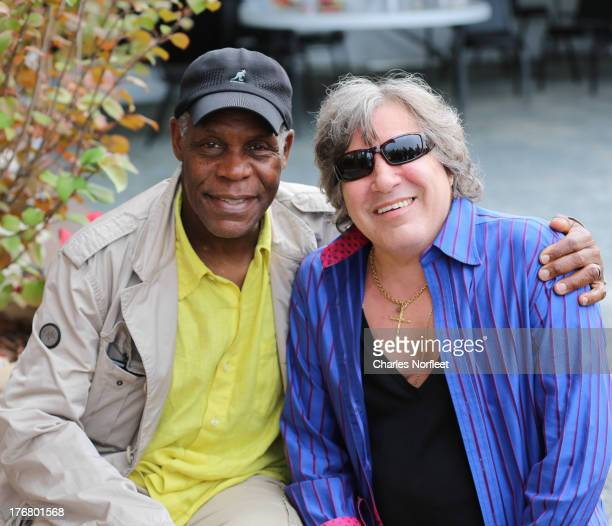 Danny Glover and Jose Feliciano attend the Richie Havens Memorial Celebration and Aerial Scattering pf Ashes at Bethel Woods Art Center on August 18...