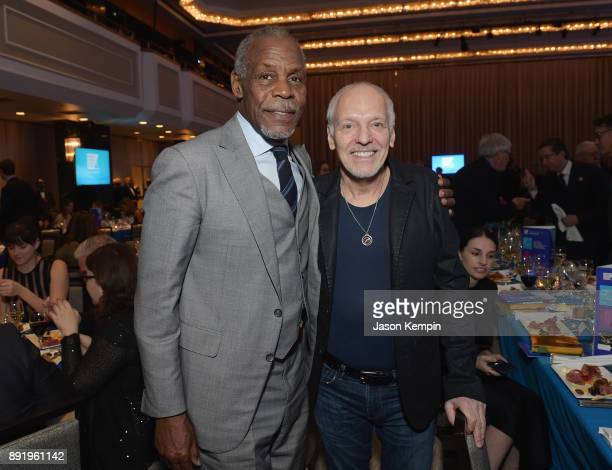 Danny Glover and Peter Frampton attend Robert F Kennedy Human Rights Hosts Annual Ripple Of Hope Awards Dinner on December 13 2017 in New York City