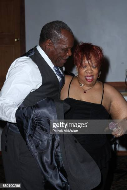 Danny Glover and Sweet Georgia Brown attend LITTLE GREAT NIGHT IN HARLEM Hosted by RICHARD PARSONS and BLYTHE DANNER to Benefit the JAZZ FOUNDATION...