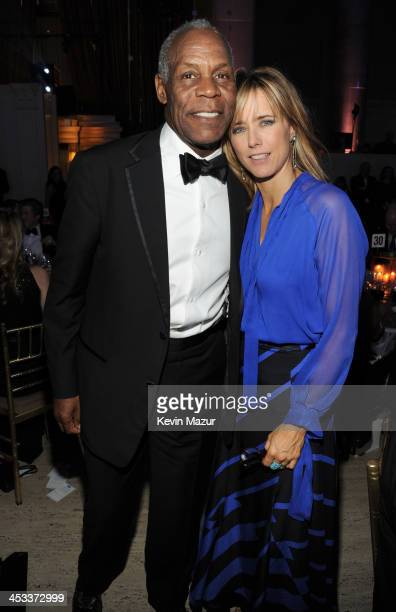 Danny Glover and Tea Leoni attend The Ninth Annual UNICEF Snowflake Ball at Cipriani Wall Street on December 3 2013 in New York City