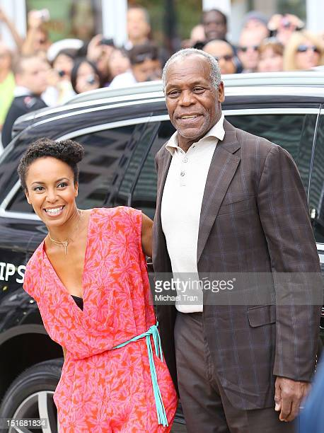 Danny Glover arrives at Free Angela All Political Prisoners premiere during the 2012 Toronto International Film Festival held at Roy Thomson Hall on...
