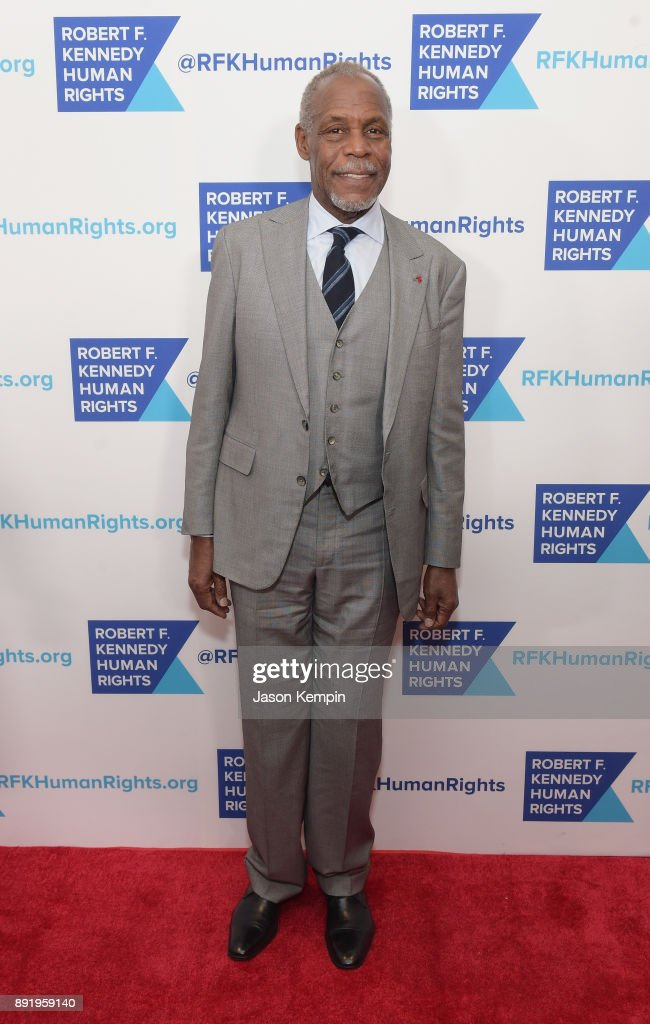 Danny Glover attends Robert F. Kennedy Human Rights Hosts Annual Ripple Of Hope Awards Dinner on December 13, 2017 in New York City.