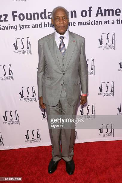 Danny Glover attends the 17th annual A Great Night in Harlem at The Apollo Theater on April 4 2019 in New York City