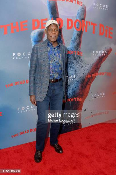 Danny Glover attends The Dead Don't Die New York Premiere at Museum of Modern Art on June 10 2019 in New York City