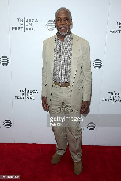 Danny Glover attends the Shadow World Premiere 2016 Tribeca Film Festival at Regal Battery Park Cinemas on April 16 2016 in New York City