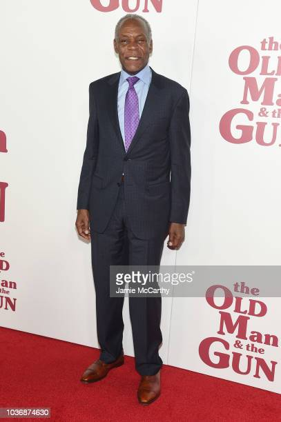 Danny Glover attends the The Old Man The Gun premiere at Paris Theatre on September 20 2018 in New York City