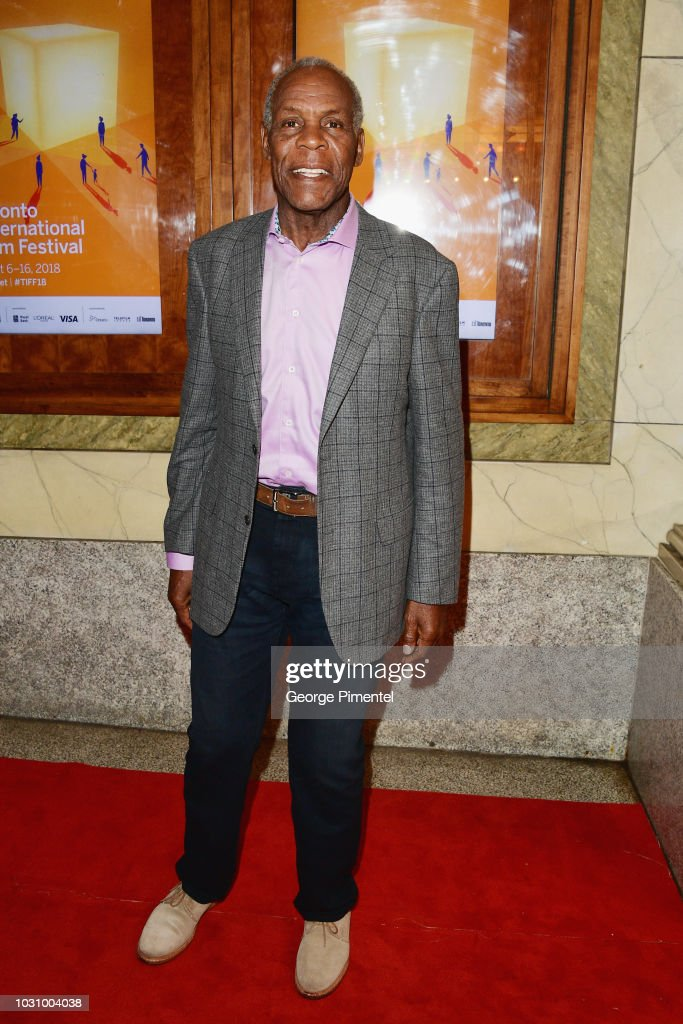 Danny Glover attends the 'The Old Man & The Gun' premiere during 2018 Toronto International Film Festival at The Elgin on September 10, 2018 in Toronto, Canada.