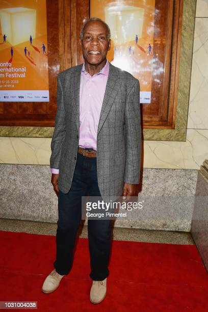 Danny Glover attends the The Old Man The Gun premiere during 2018 Toronto International Film Festival at The Elgin on September 10 2018 in Toronto...