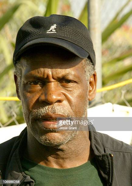 Danny Glover during Daryl Hannah Protests the Closing of South Central Los Angeles Farm June 1 2006 in Los Angeles California United States