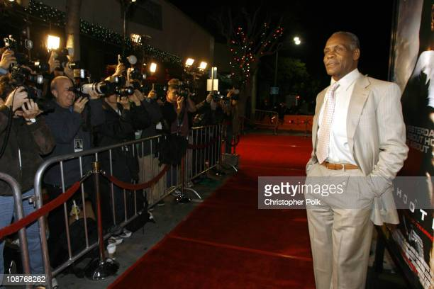 Danny Glover during 'Shooter' Los Angeles Premiere Red Carpet at Mann Village Theatre in Westwood California United States