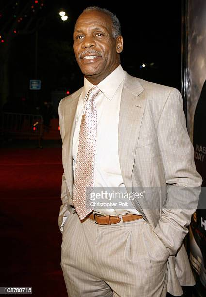 Danny Glover during Shooter Los Angeles Premiere Red Carpet at Mann Village Theatre in Westwood California United States
