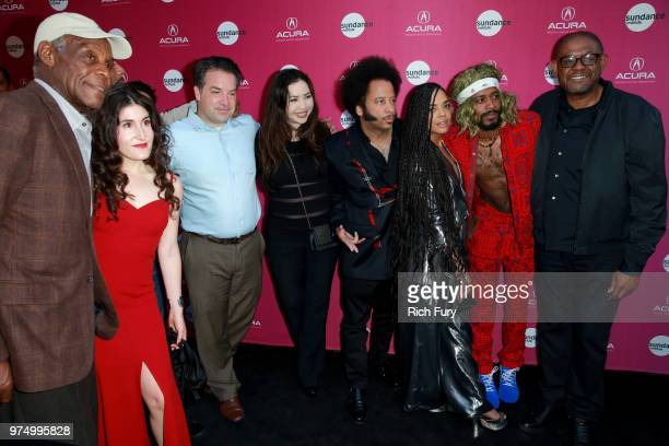 Danny Glover, Kate Berlant, George Rush, Nina Yang Bongiovi, Boots Riley, Tessa Thompson, Lakeith Stanfield, and Forest Whitaker attend the Sundance...