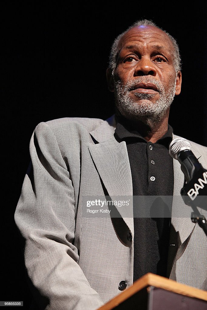Danny Glover speaks at the 24th Annual Brooklyn Tribute to Dr. Martin Luther King Jr. at the Howard Gilman Opera House, BAM on January 18, 2010 in New York City.