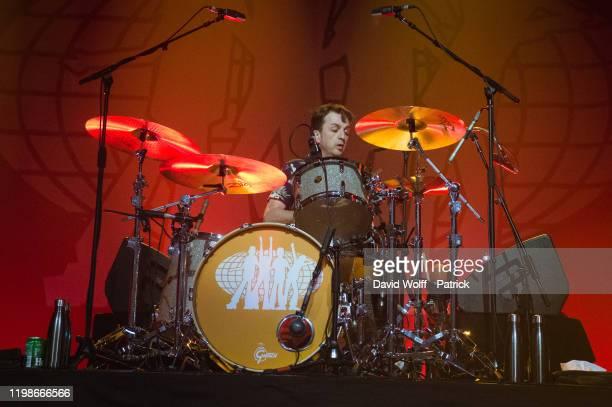 Danny Goffey performs at Casino de Paris on February 4, 2020 in Paris, France.