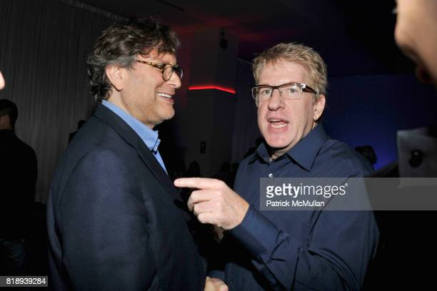 Danny Goldberg and Stephen Corelli attend PATTI SMITH Live in Concert A Benefit for The American Folk Art Museum at Espace on May 15 2010 in New York...