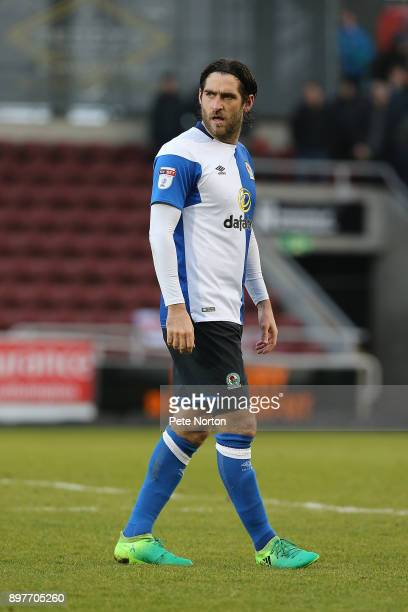 Danny Graham of Blackburn Rovers in action during the Sky Bet League One match between Northampton Town and Blackburn Rovers at Sixfields on December...