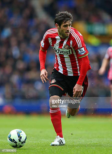 Danny Graham of Sunderland during the Barclays Premier League match between Everton and Sunderland at Goodison Park on May 9 2015 in Liverpool England