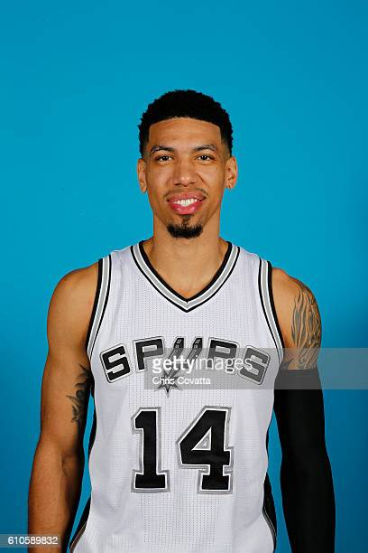 Danny Green of the San Antonio Spurs poses for a headshot during the 20162017 San Antonio Spurs Media Day at the Spurs Training Facility on September...