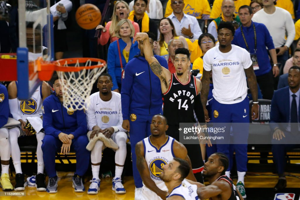 2019 NBA Finals - Game Three : News Photo