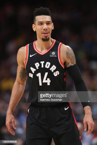 Danny Green of the Toronto Raptors plays the Denver Nuggets at the Pepsi Center on December 16 2018 in Denver Colorado