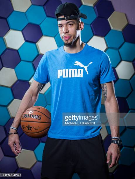 Danny Green of the Toronto Raptors poses for a portrait during the 2019 NBA AllStar circuit on February 15 2019 at the Sheraton Hotel in Charlotte...
