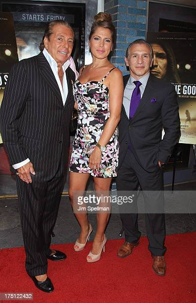 Danny Grimaldi and boxer Ray 'Boom Boom' Mancini attend The Good Son New York Screening at Cinema Village on July 31 2013 in New York City