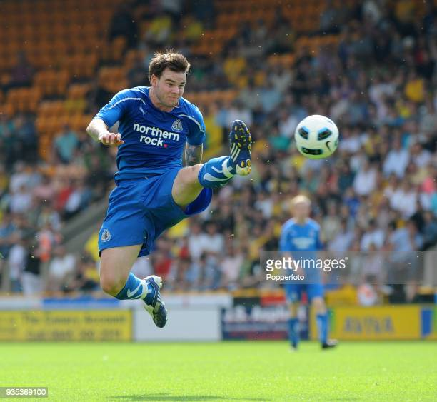 Danny Guthrie of Newcastle United during the Pre Season Friendly match between Norwich City and Newcastle United at Carrow Road in Norwich on July 24...