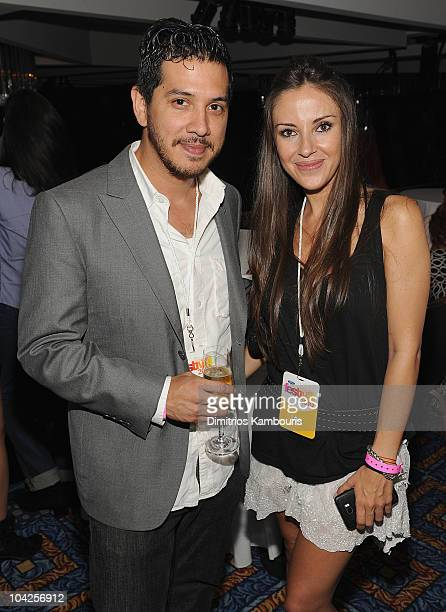 Danny Hastings and Ana De Los Riscos attend People En Espanol Celebrates Hispanic Heritage Month With Festival 2010 at Marriot Marquis on September...