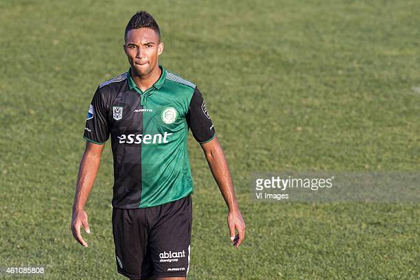 Danny Hoesen of FC Groningen During the friendly match between FC Groningen and Mouloudia Club D'Alger on january 6, 2015 in Benidorm, Spain