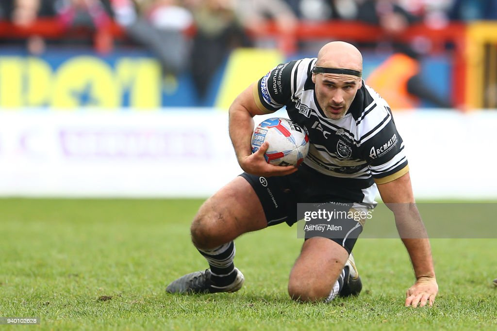 Danny Houghton of Hull FC during the BetFred Super League match between Hull KR and Hull FC at KCOM Craven Park on March 30, 2018 in Hull, England.