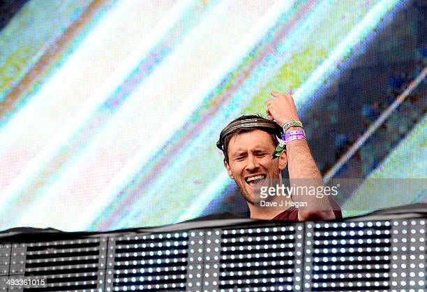 Danny Howard performs live at Radio 1's Big Weekend in George Square on May 23 2014 in Glasgow Scotland