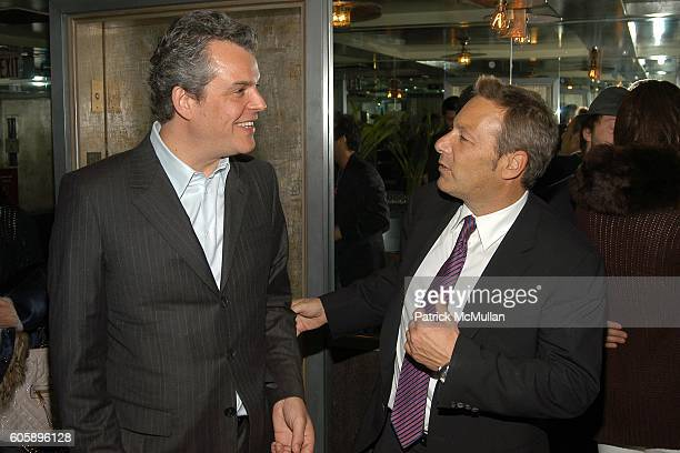 Danny Huston and Henry Winterstern attend THE CINEMA SOCIETY presents the NY Premiere of First Look Pictures' THE PROPOSITION -Afterparty at Soho...