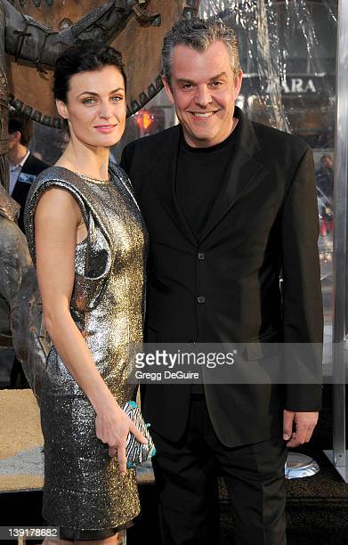 """Danny Huston and Lyne Renee arrive at the Los Angeles Premiere of """"Clash Of The Titans"""" held at the Grauman's Chinese Theater on March 31, 2010 in..."""