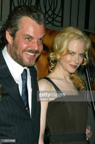 Danny Huston and Nicole Kidman during Birth New York Premiere Screening Inside Arrivals at The Loews Lincoln Square in New York City New York United...