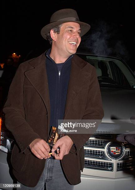 Danny Huston with Cadillac Escalade during 2006 Park City General Motors in Park City Danny Huston in Park City Utah United States