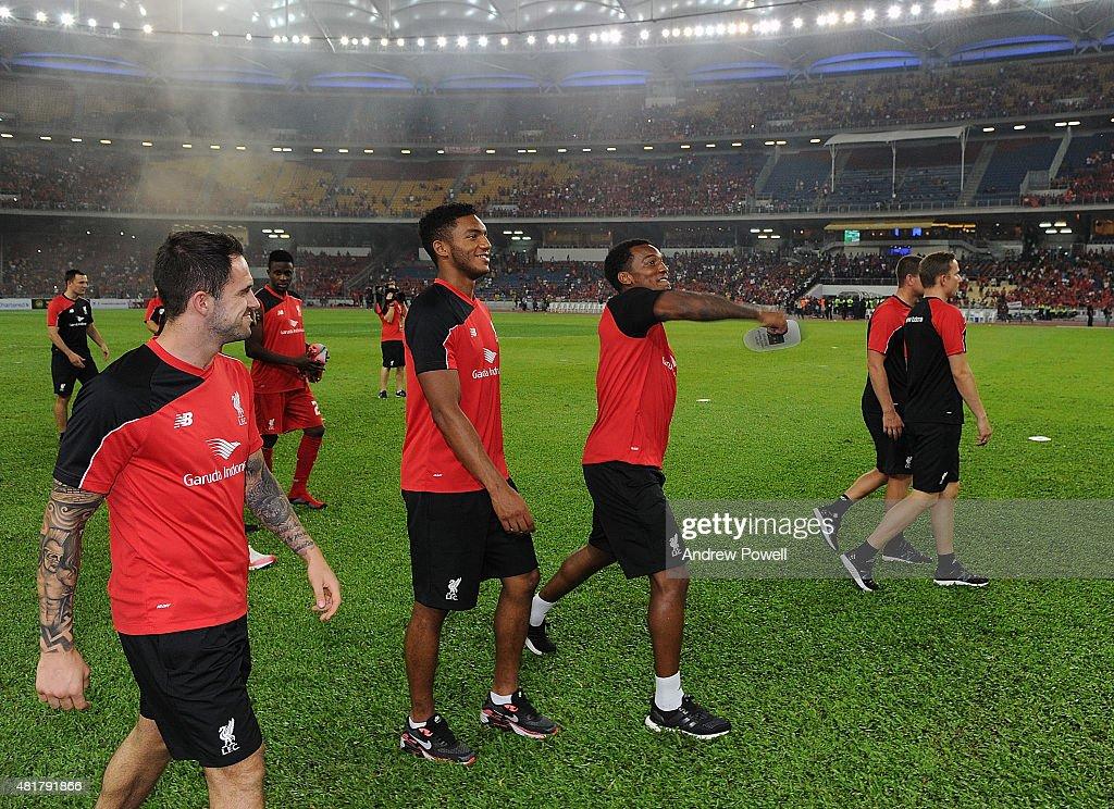 Malaysia XI v Liverpool : News Photo