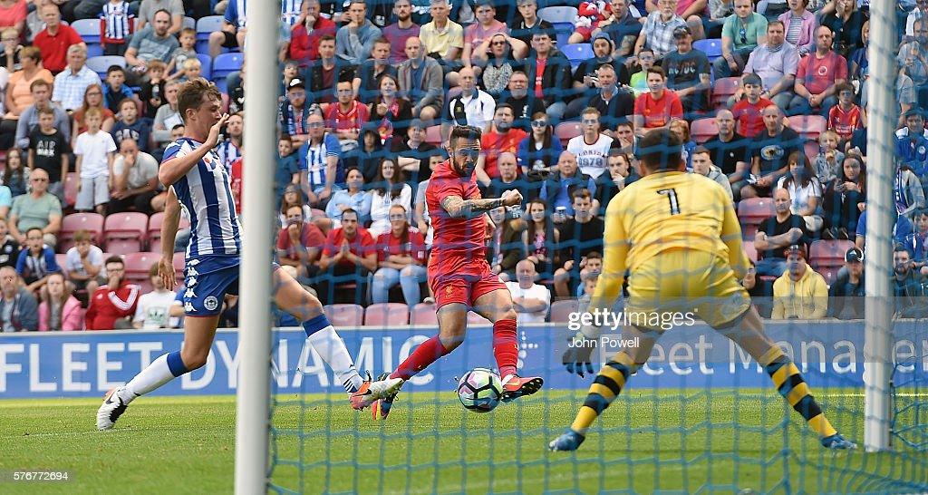 Wigan Athletic v Liverpool - Pre-Season Friendly : News Photo