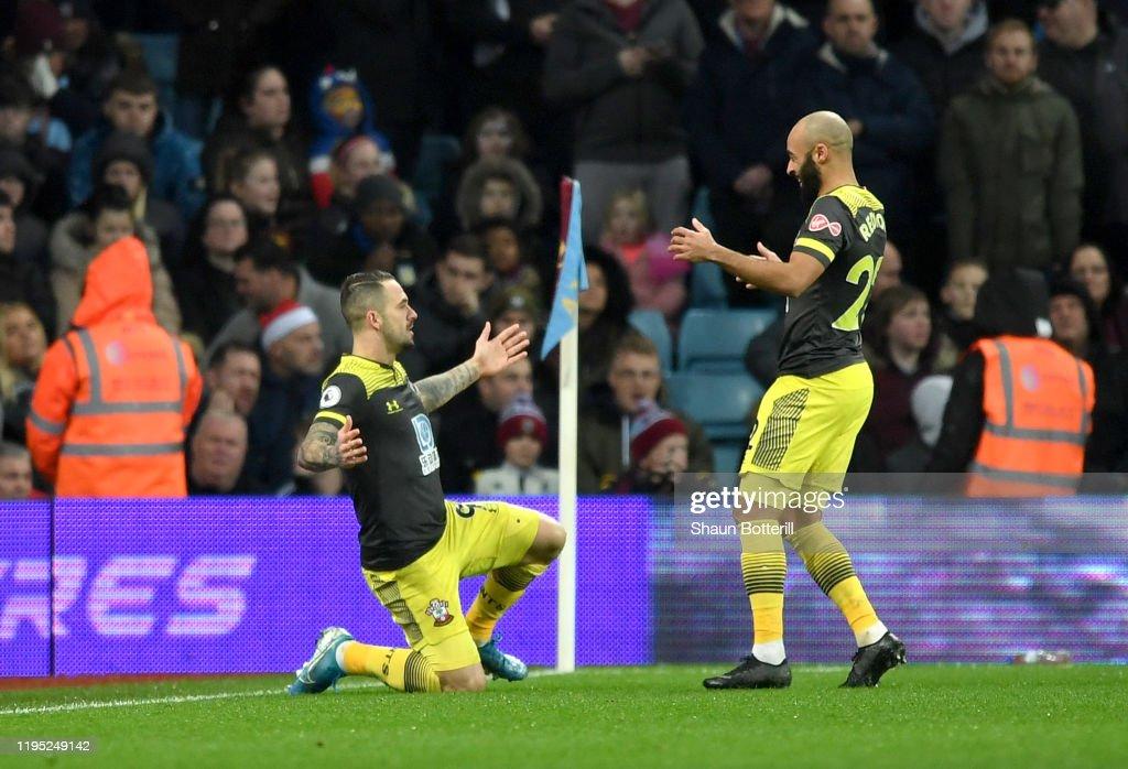 Aston Villa v Southampton FC - Premier League : News Photo