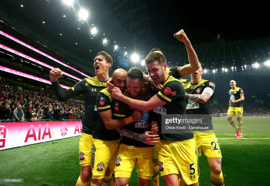 Tottenham Hotspur v Southampton FC - FA Cup Fourth Round: Replay : News Photo