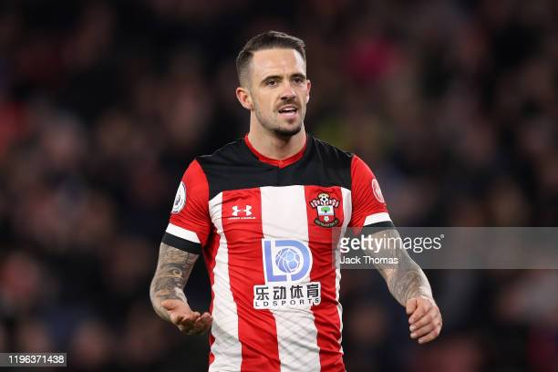 Danny Ings of Southampton reacts during the Premier League match between Southampton FC and Crystal Palace at St Mary's Stadium on December 28 2019...