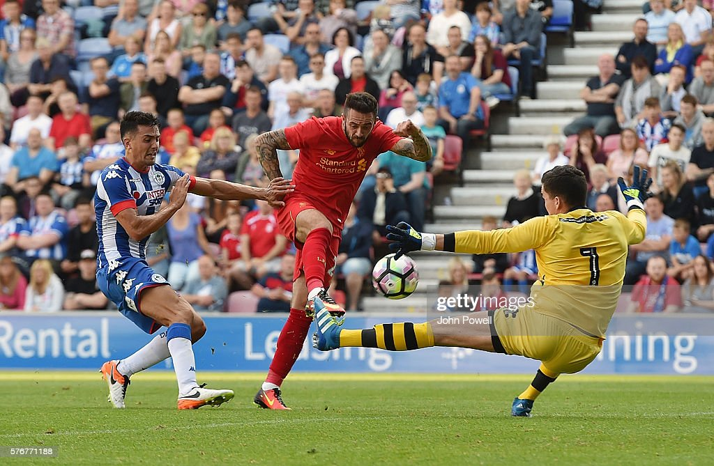 Wigan Athletic v Liverpool - Pre-Season Friendly