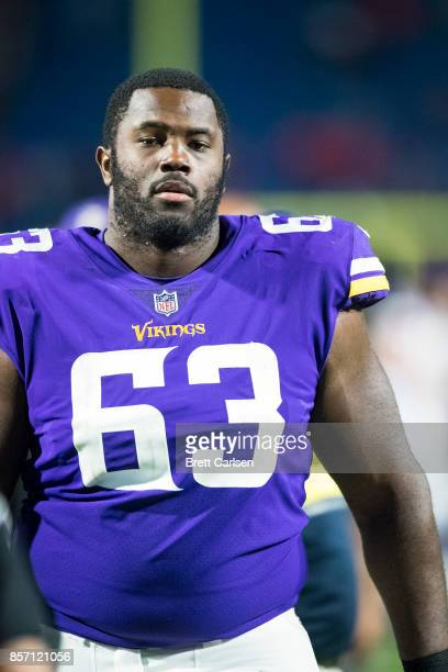 Danny Isidora of the Minnesota Vikings walks off the field after the game against the Buffalo Bills on August 10 2017 at New Era Field in Orchard...