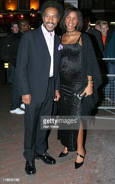 Danny John Jules and guest during 2005 Screen Nation Awards - Arrivals at The Prince Charles Cinema, Leicester Place in London, Great Britain.