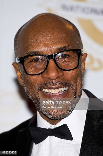 Danny John Jules attends the National Film Awards at Porchester Hall on March 31, 2015 in London, England.